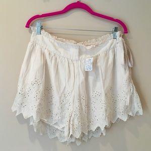 [Free peope] boho Embroidery Shorts